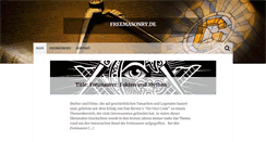 Preview of freemasonry.de