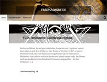 Tablet Preview of freemasonry.de